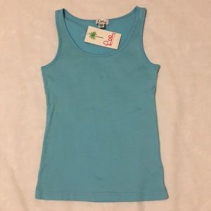 Lilly Pulitzer Turquoise Tank top Size small